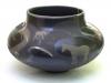 Raku vessel, horse series