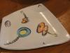 Irregular Cut Dish, music motif